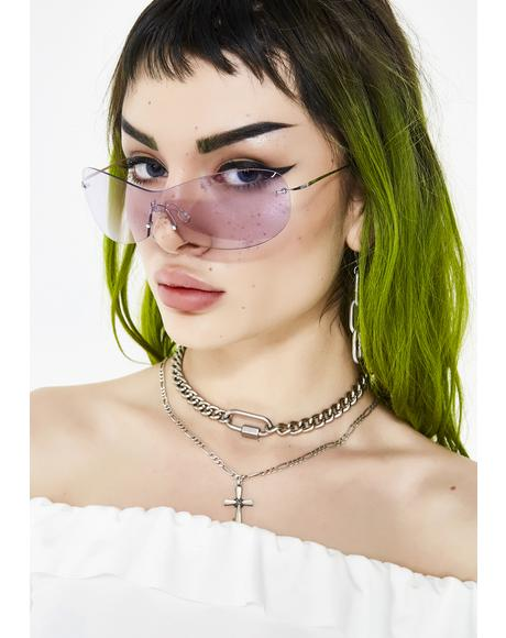 Feelin' Yourself Shield Sunglasses