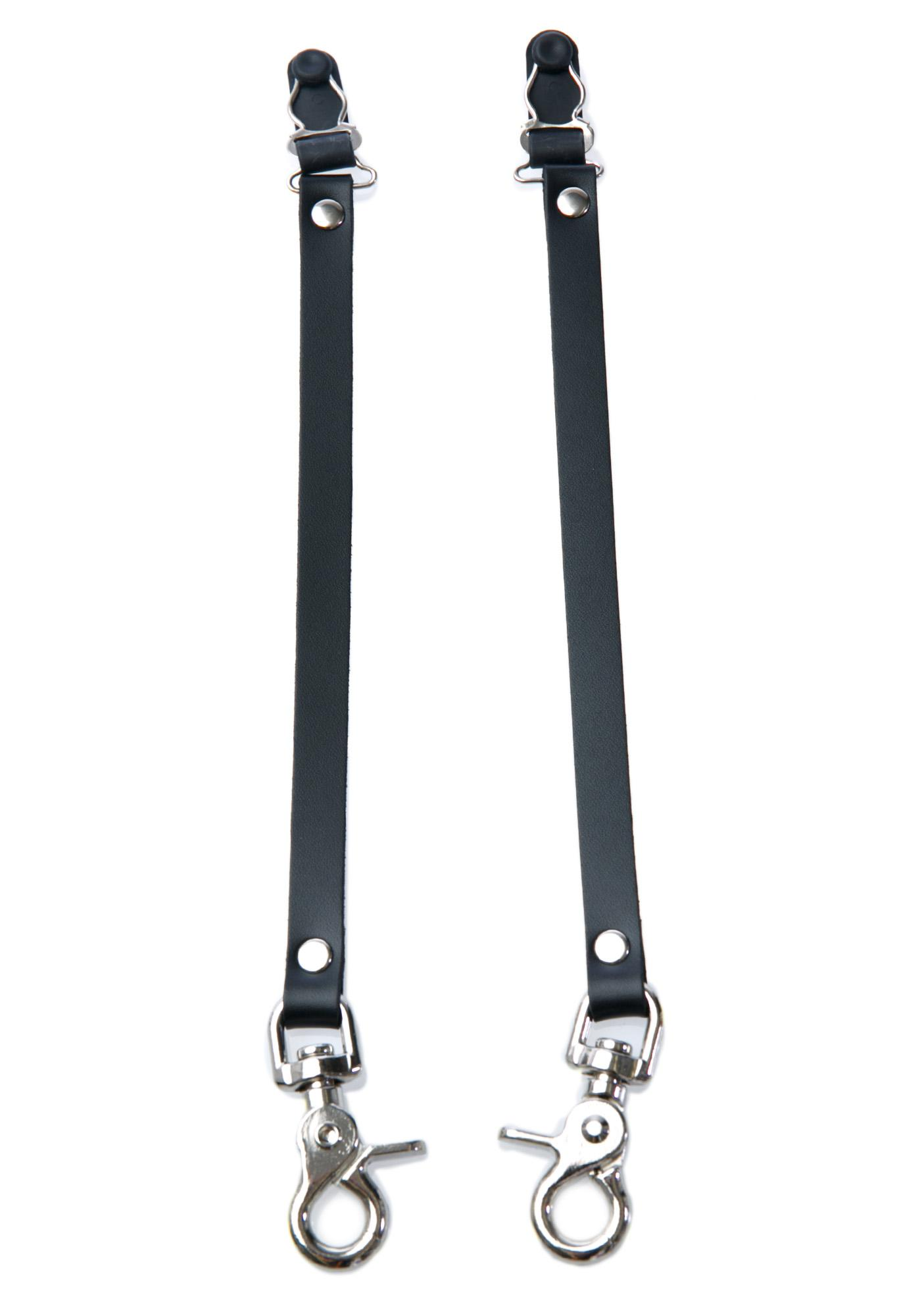 Club Exx Solid Game Leg Garter Clips
