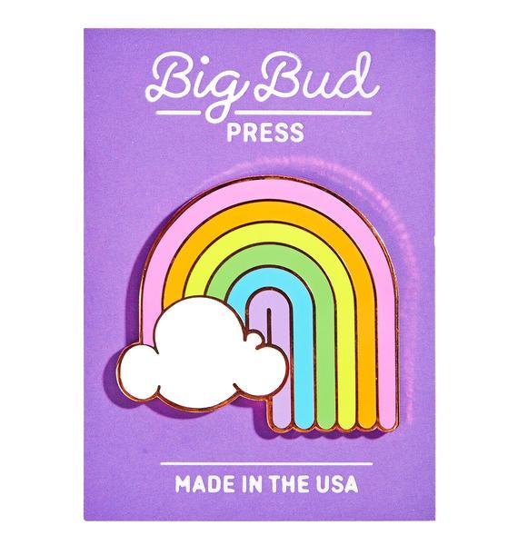 Big Bud Press Rainbow Enamel Pin