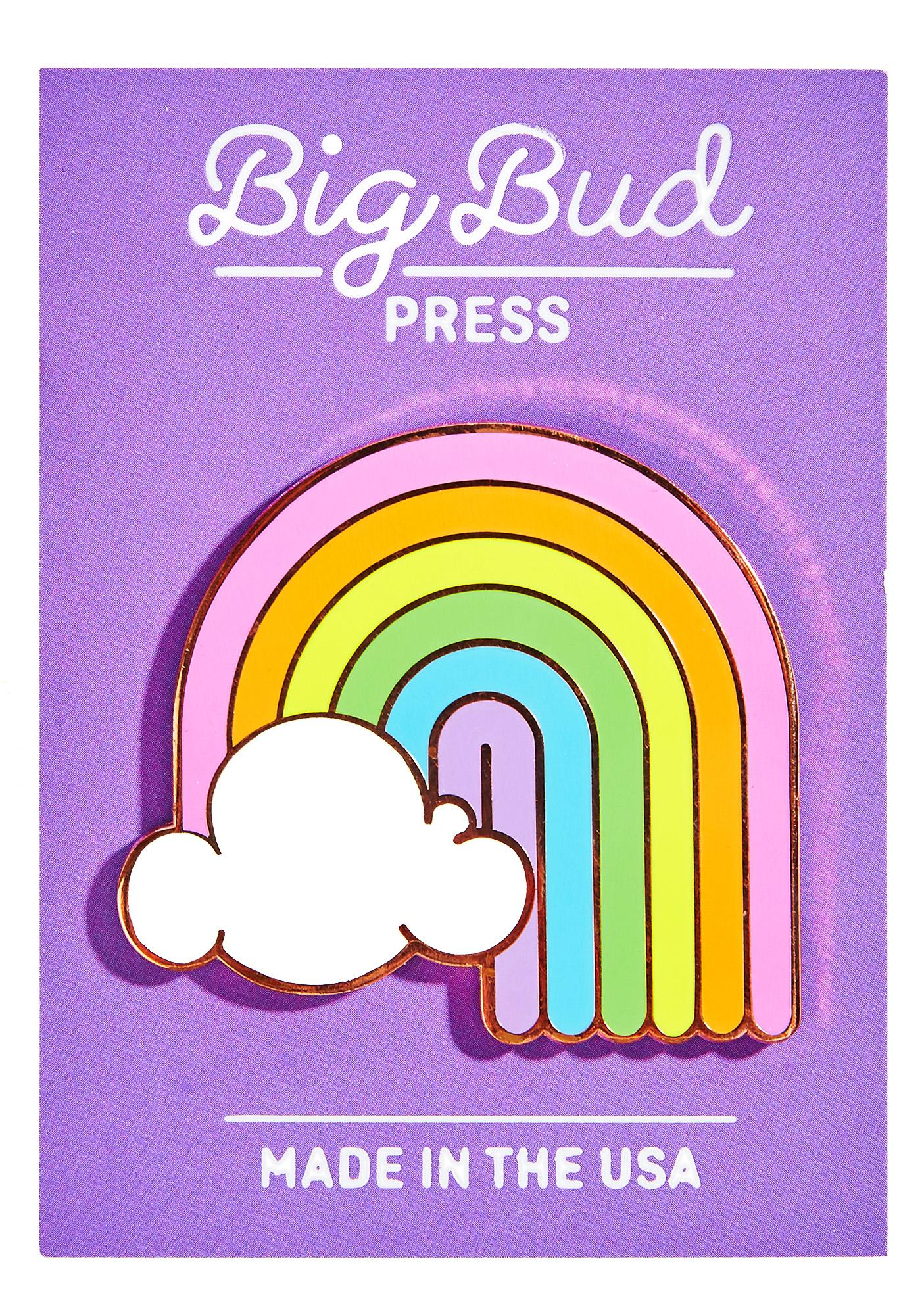 Big Bud Press Rainbow Enamel Pin
