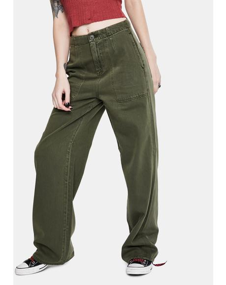 Tammy High Waisted Wide Leg Pants