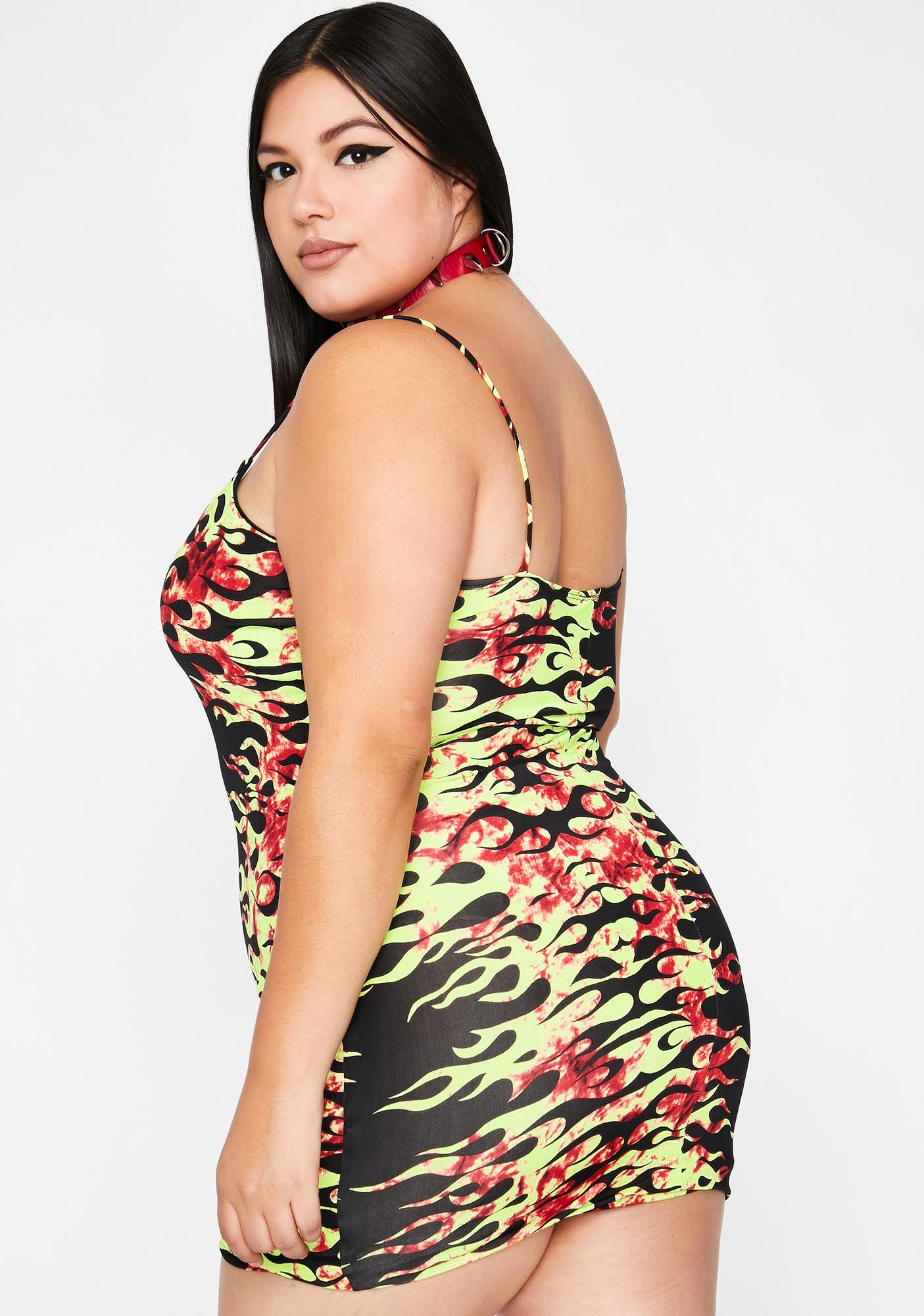 Her Lover's Inferno Cami Dress