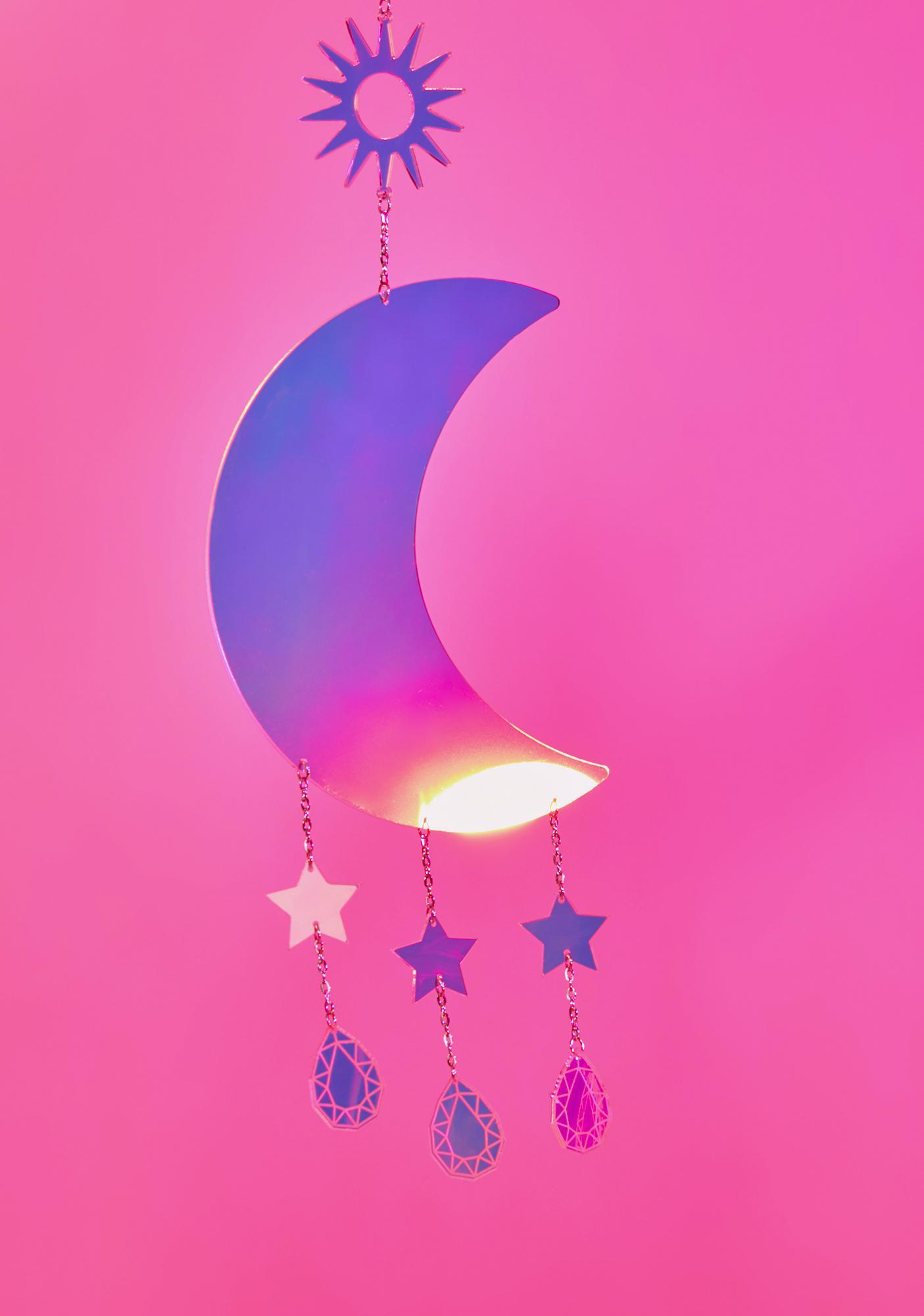 Rolita Rave Couture Moon & Stars Wall Hanger