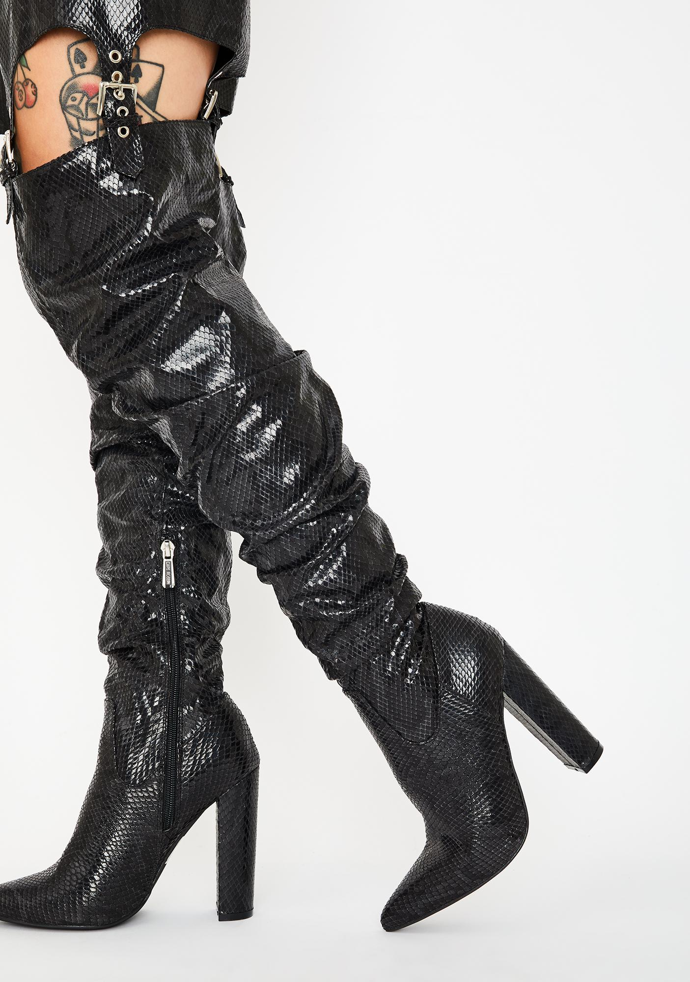 Night Sexy Thing Chap Boots