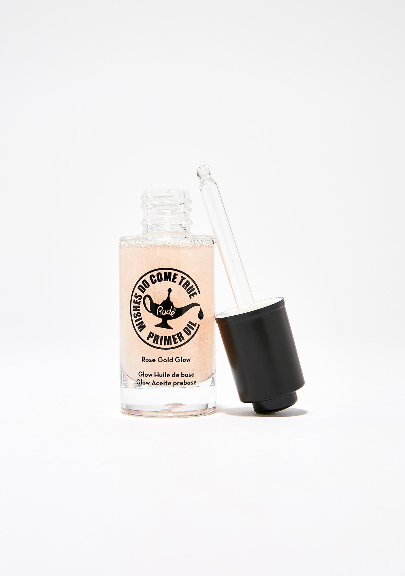 Rude Cosmetics Wishes Do Come True Glow Primer Oil
