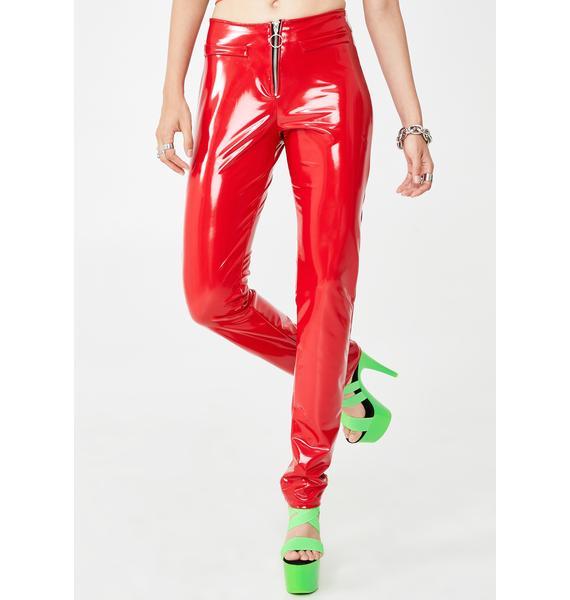 Forbidden Clothing Hottie Lose Control Zip Pants