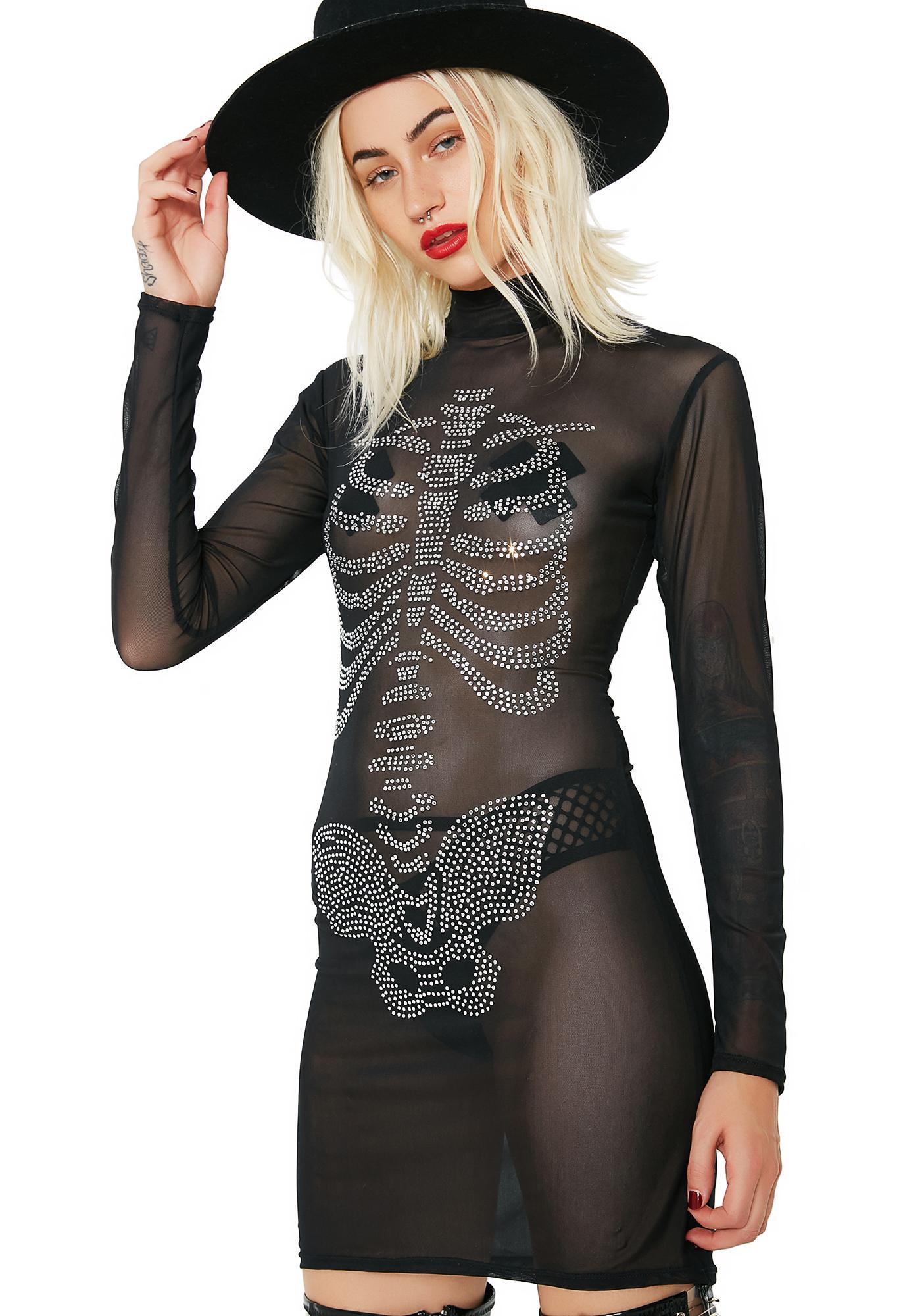 Lovely Bones Mini Dress