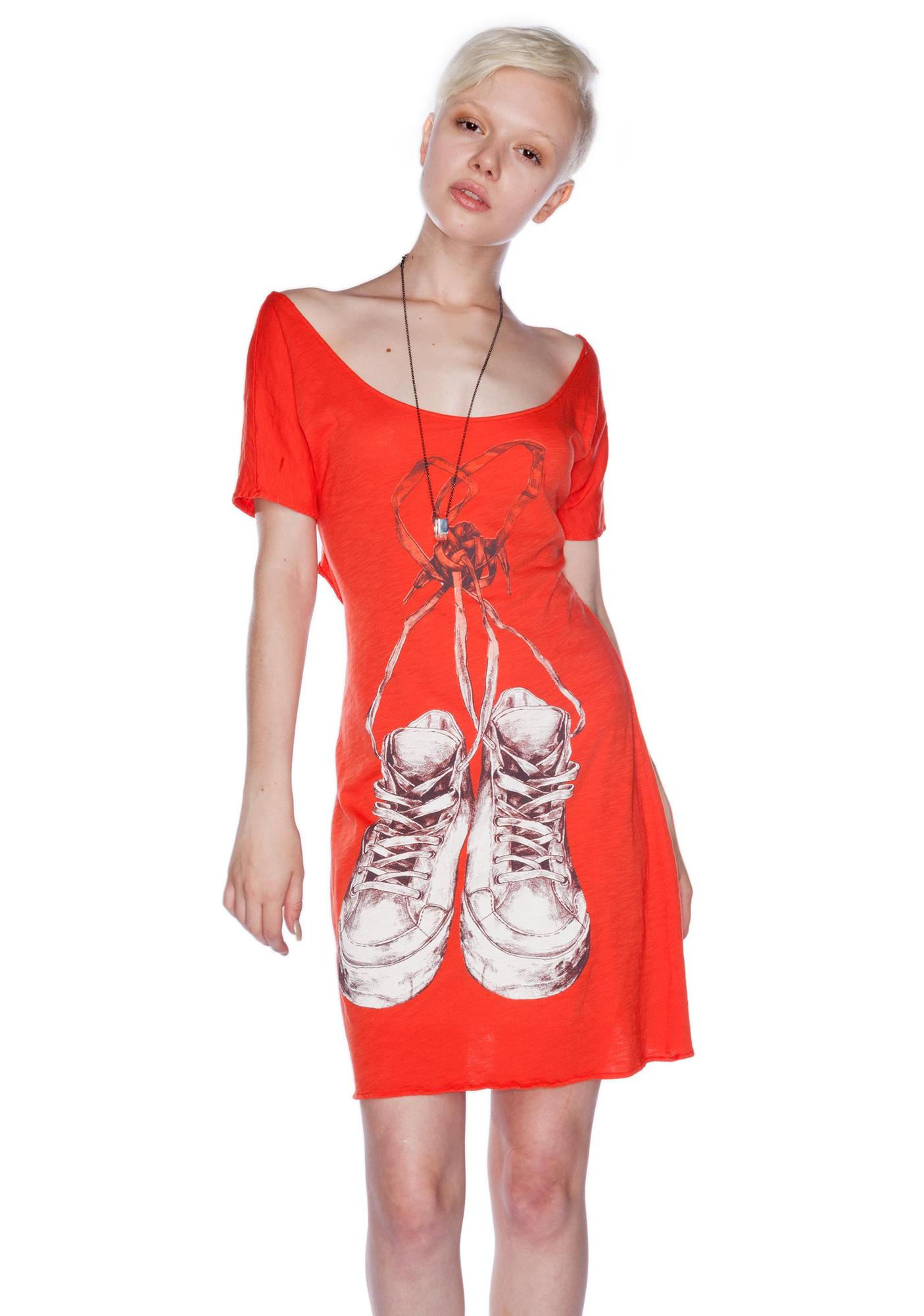 Laced Heart Dress