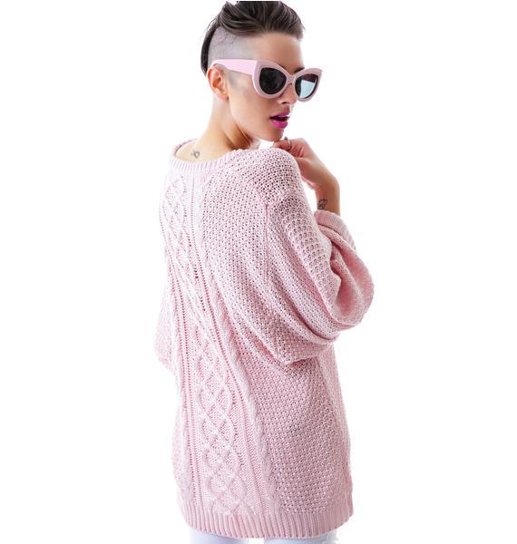 For Love & Lemons Wind Down Sweater