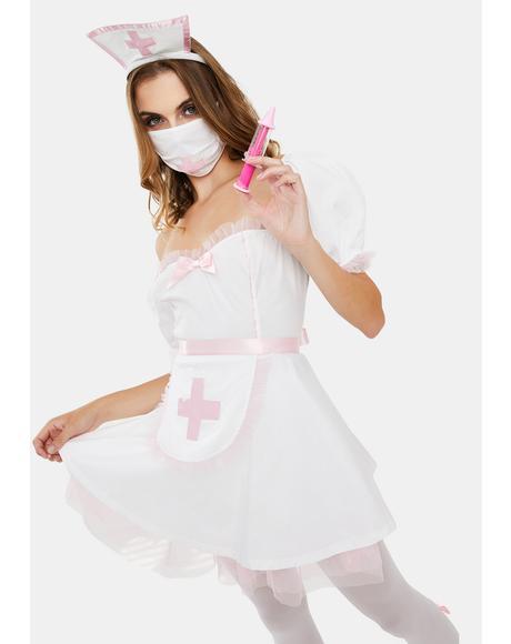 Heart Healer Nurse Costume