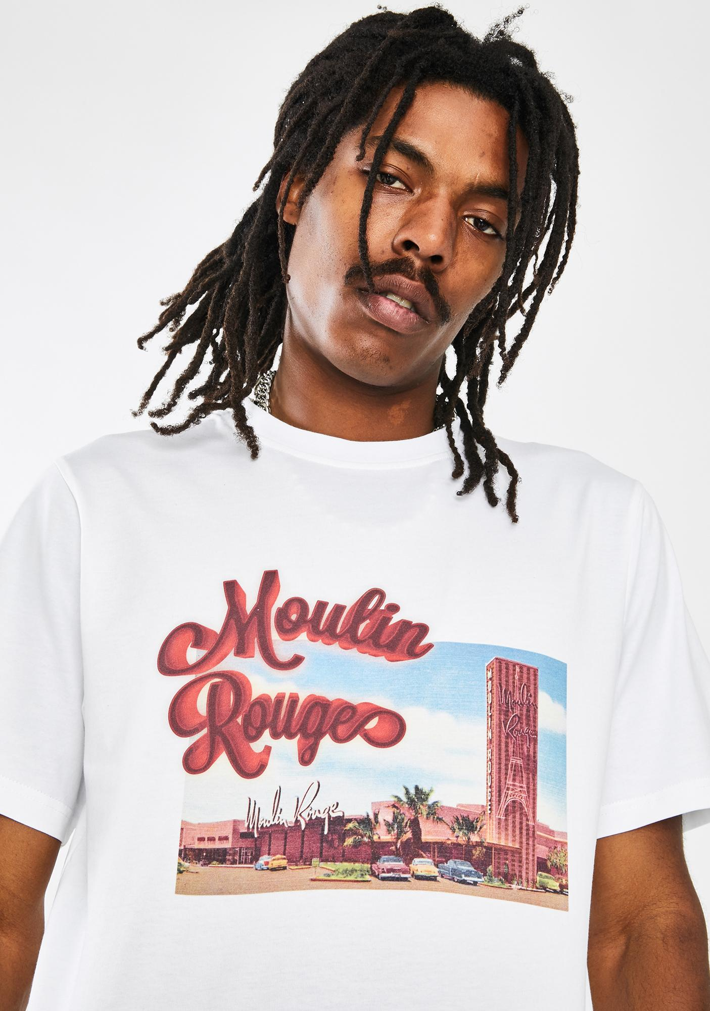Renowned LA Moulin Rouge Airbrush Tee