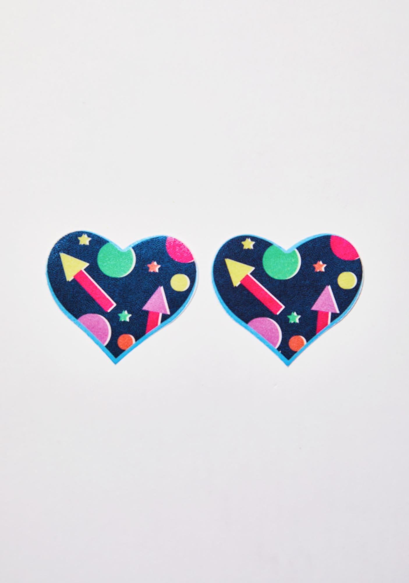 Pastease x Club Exx Shapes Heart Pasties