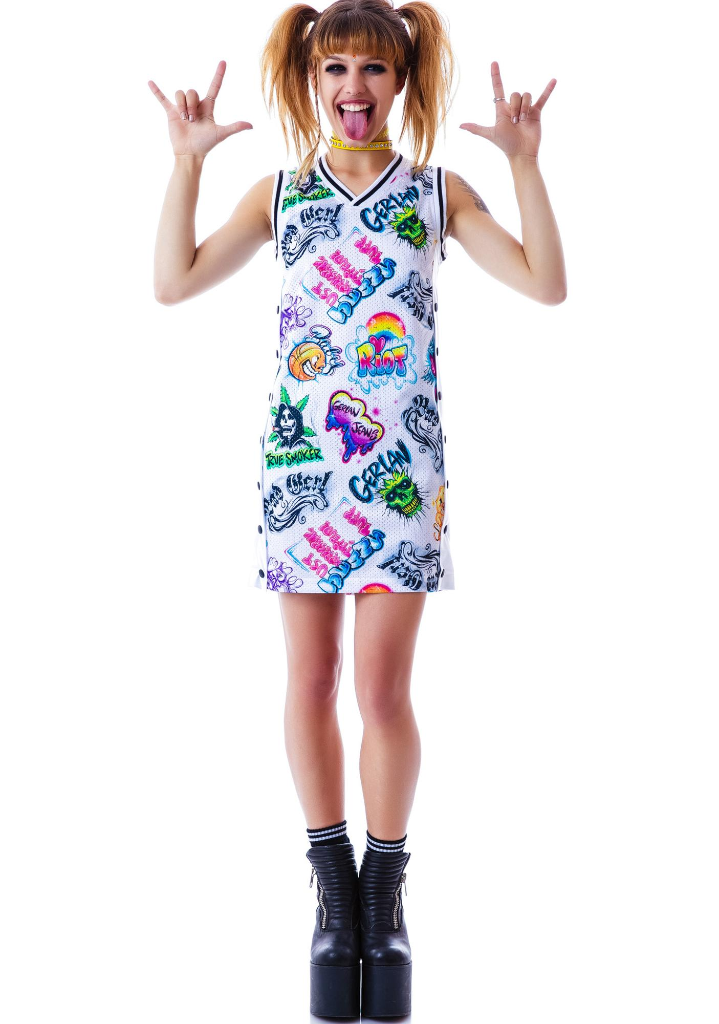 Gerlan Jeans Gerl Unit B-Ball Dress