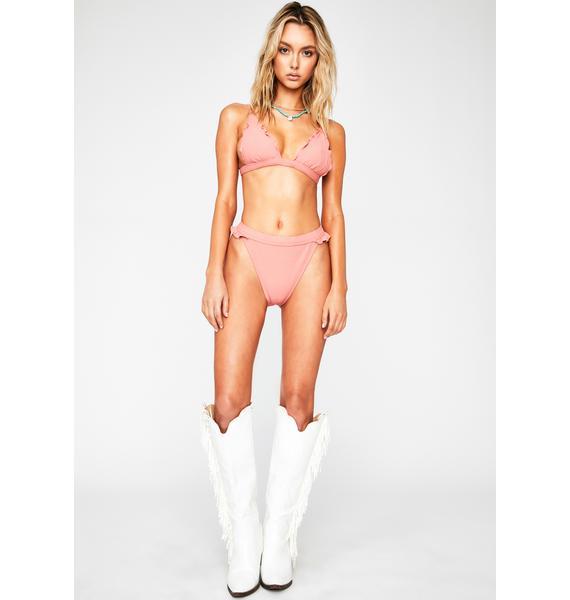 RIS-K Rose Horizon Bikini Bottoms