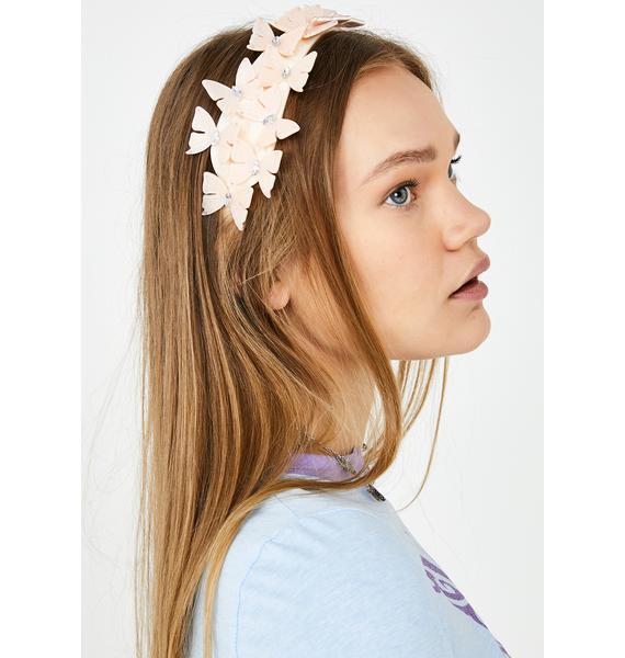 Kiss My Metamorphosis Butterfly Headband