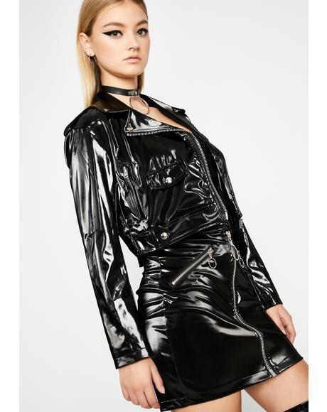 Matrix Dominatrix Moto Jacket