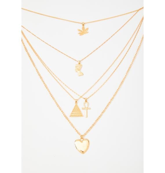Top Priorities Layered Necklace