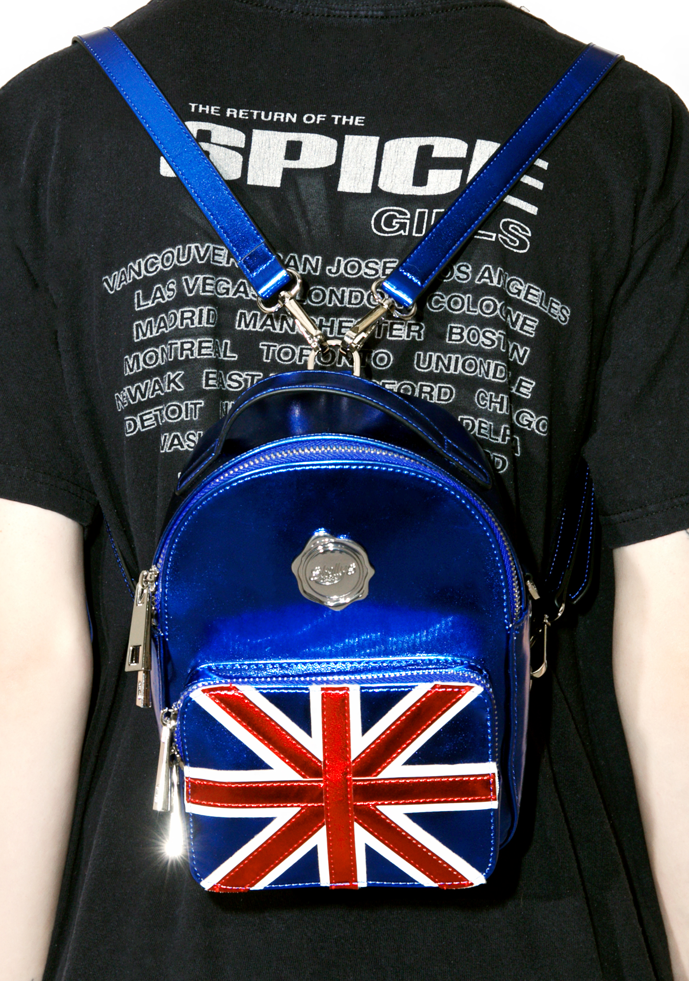 Shellys London Cobalt Cooper Mini Backpack