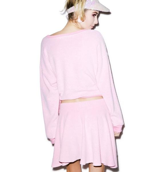 Wildfox Couture Vintage Sport Mini Skirt