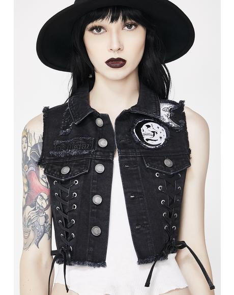 Phased Out Denim Vest