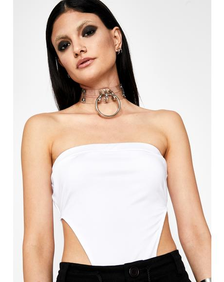 Icy Explicit Edition Tube Bodysuit