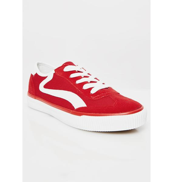Cherry Smooth Move Sneakers