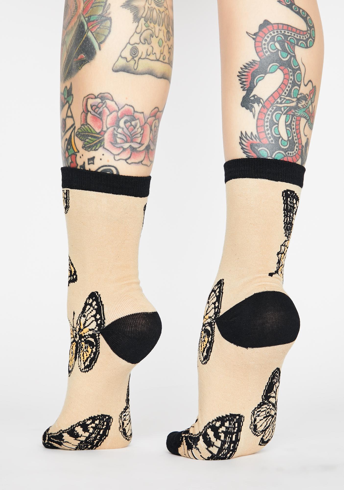 Monarch Of Mine Ankle Socks