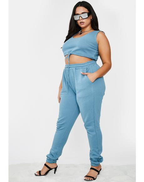 Model Off Duty Jogger Set