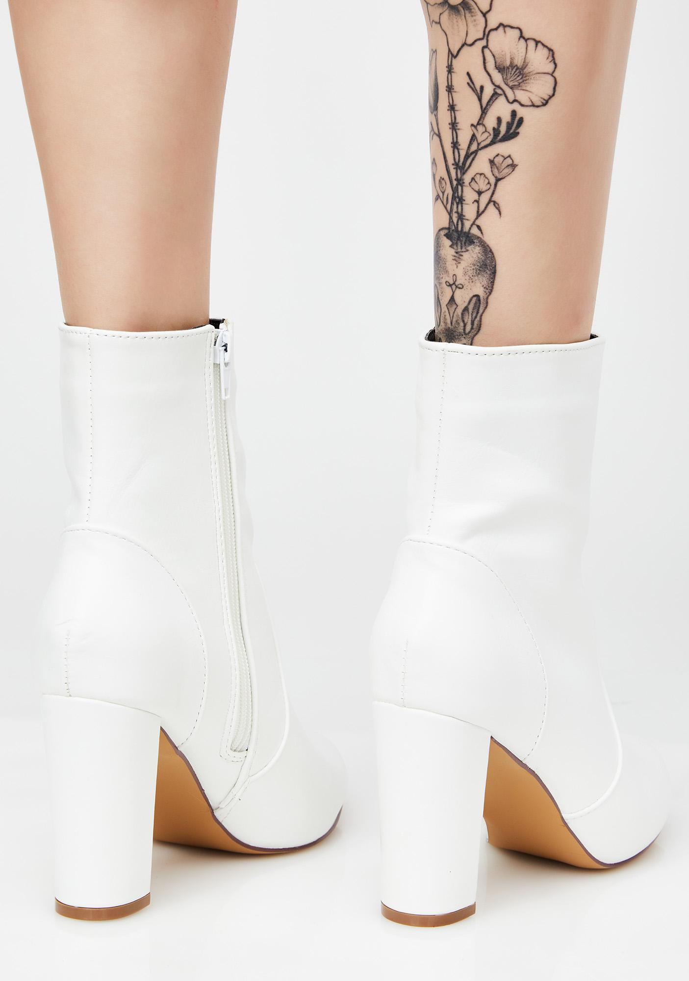 Leave It Ankle Boots