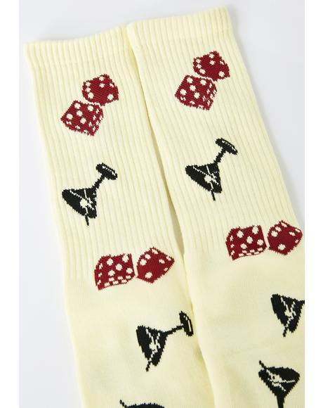Sunny Rolling Socks