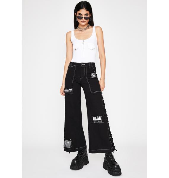 Chill Street Ruler Zip-Up Bodysuit