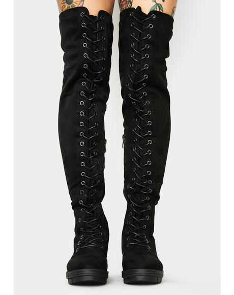 View Count Knee High Boots