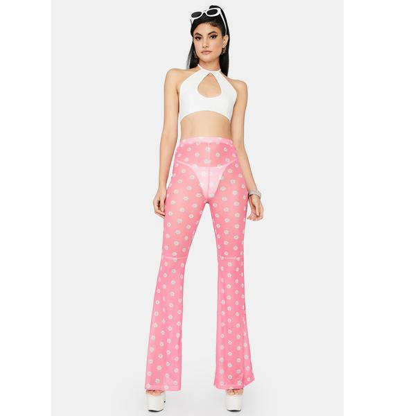 Sweet Blossom Babe Flare Pants