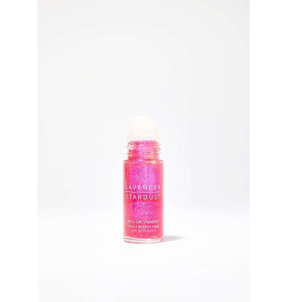Lavender Stardust Prism Roll-On Body Shimmer