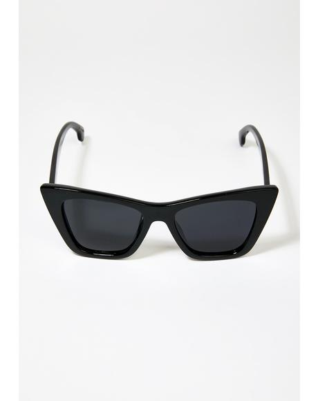 Ashbury Cat Eye Sunglasses