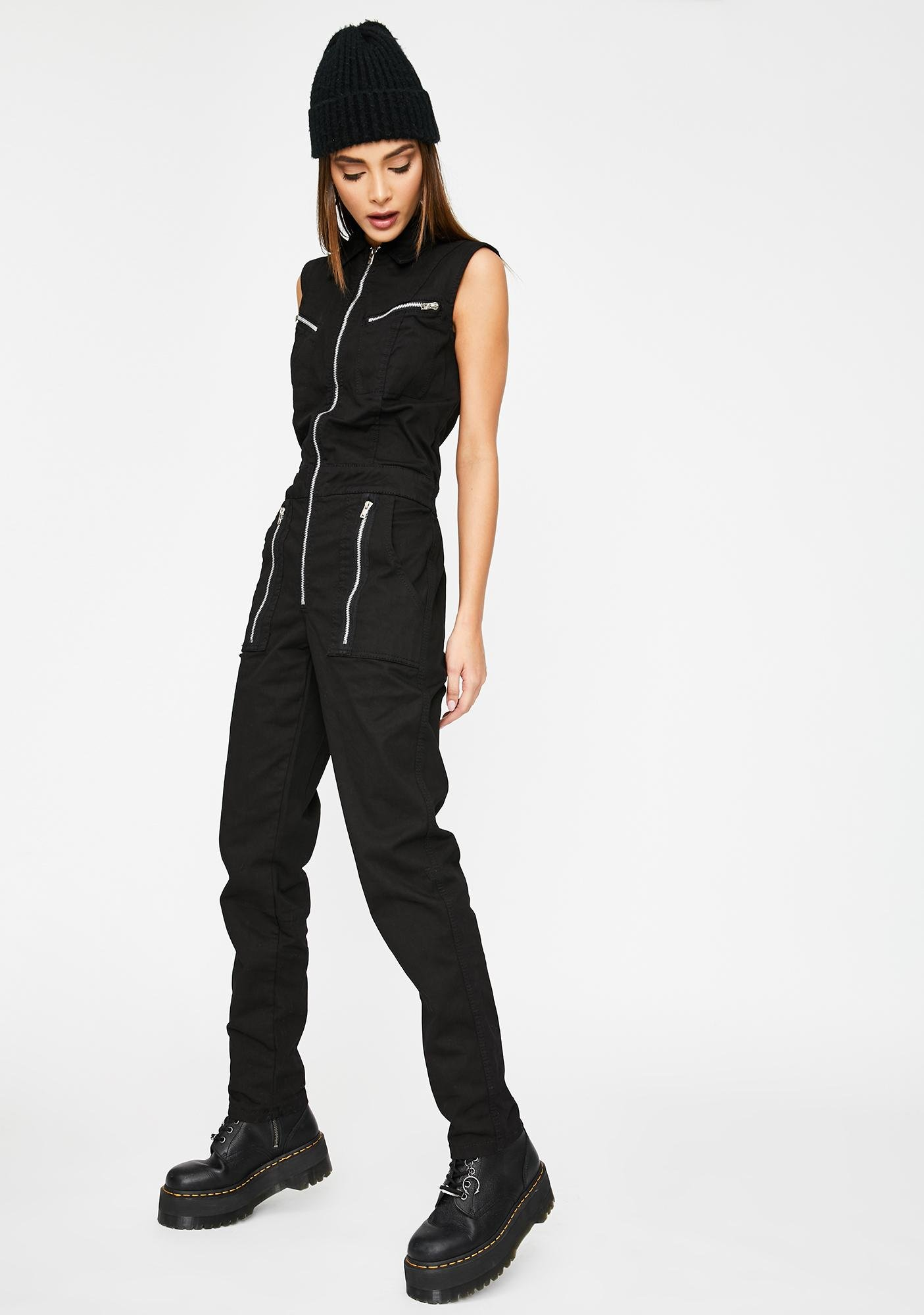 Tripp NYC All You Can Be Cargo Jumpsuit