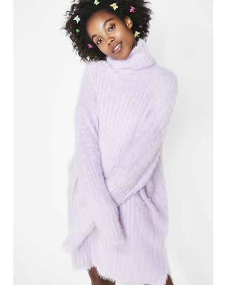 Lady Charm Sweater Dress
