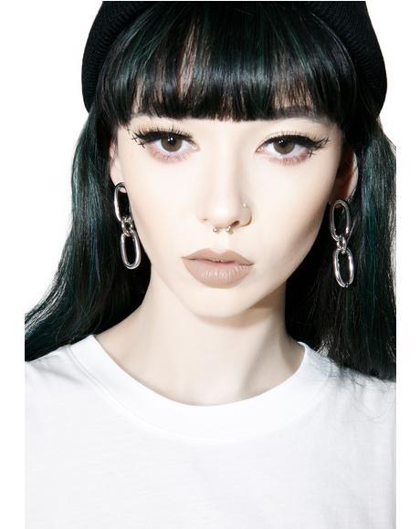 Linked Earrings