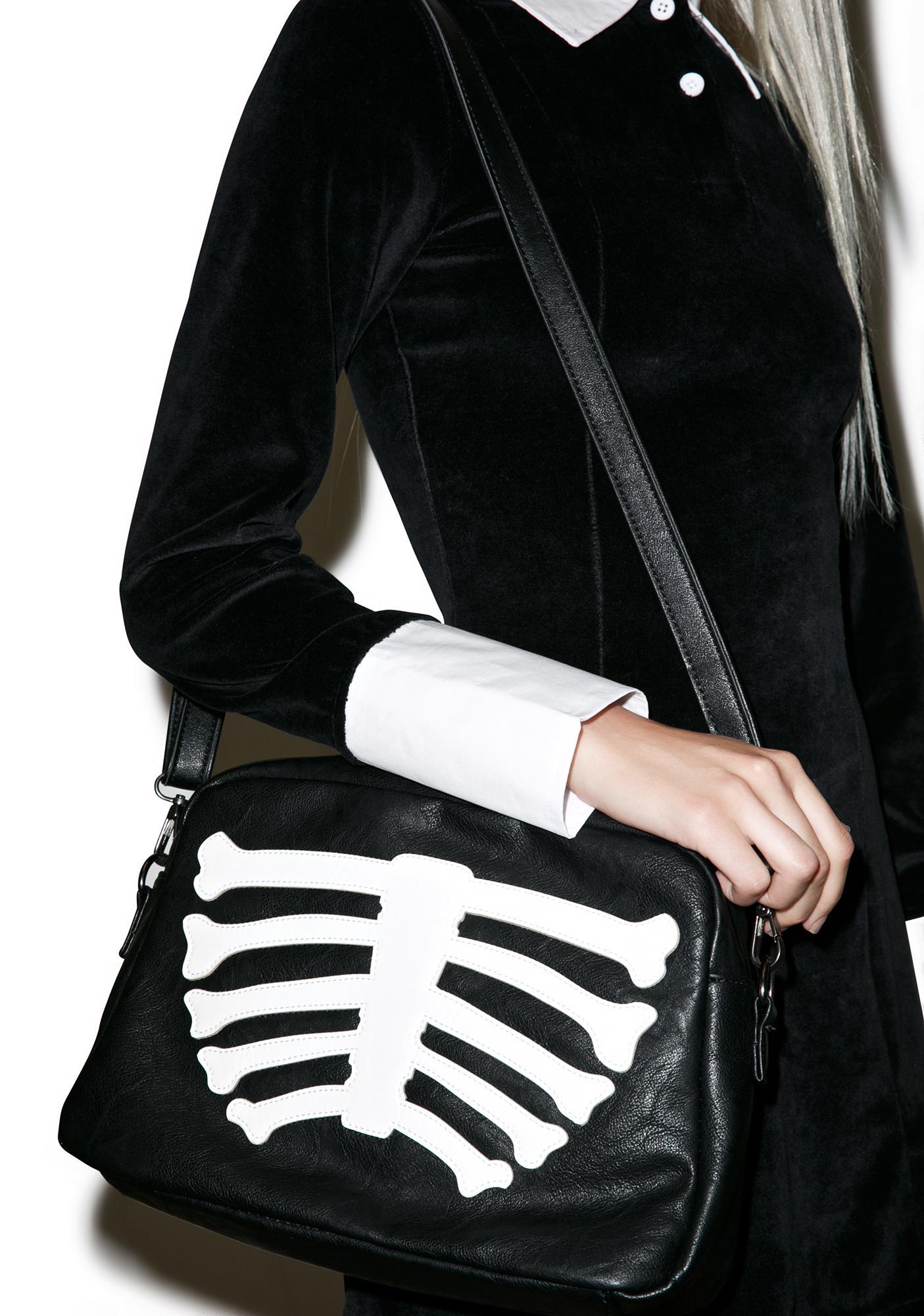 Iron Fist Wishbone Clutch Bag