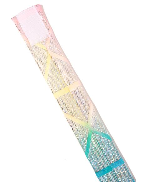 Prism Star Scouter Holographic Choker