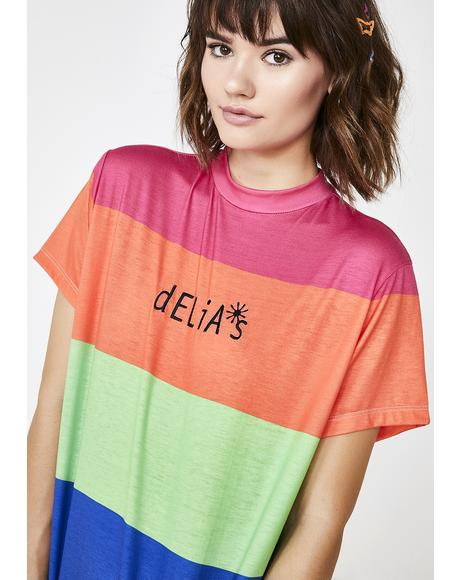 Funky Vibrations Oversize Tee