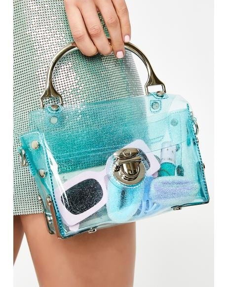 Clearly Into You Sparkle Bag
