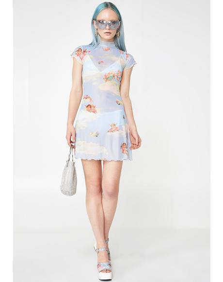 Celestial Sass Mesh Dress