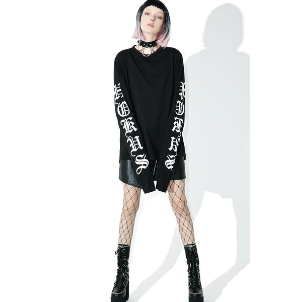 Disturbia Hocus Long Sleeve Tee