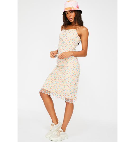ZYA Confetti Midi Dress