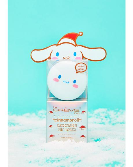 Hello Kitty Cinnamoroll Macaroon Lip Balm