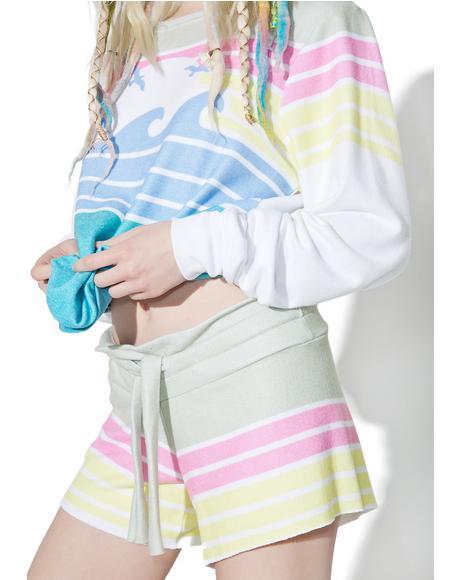 Vintage Holiday Cutie Shorts