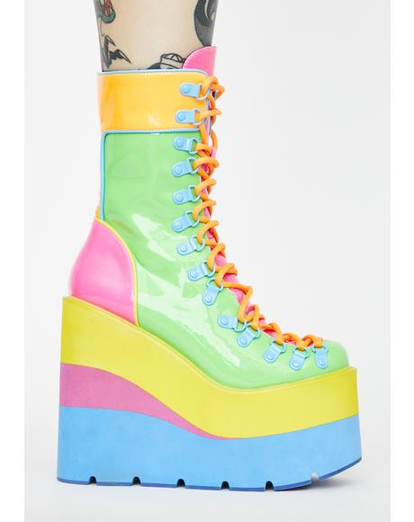 Sour Candy Traitor Boots