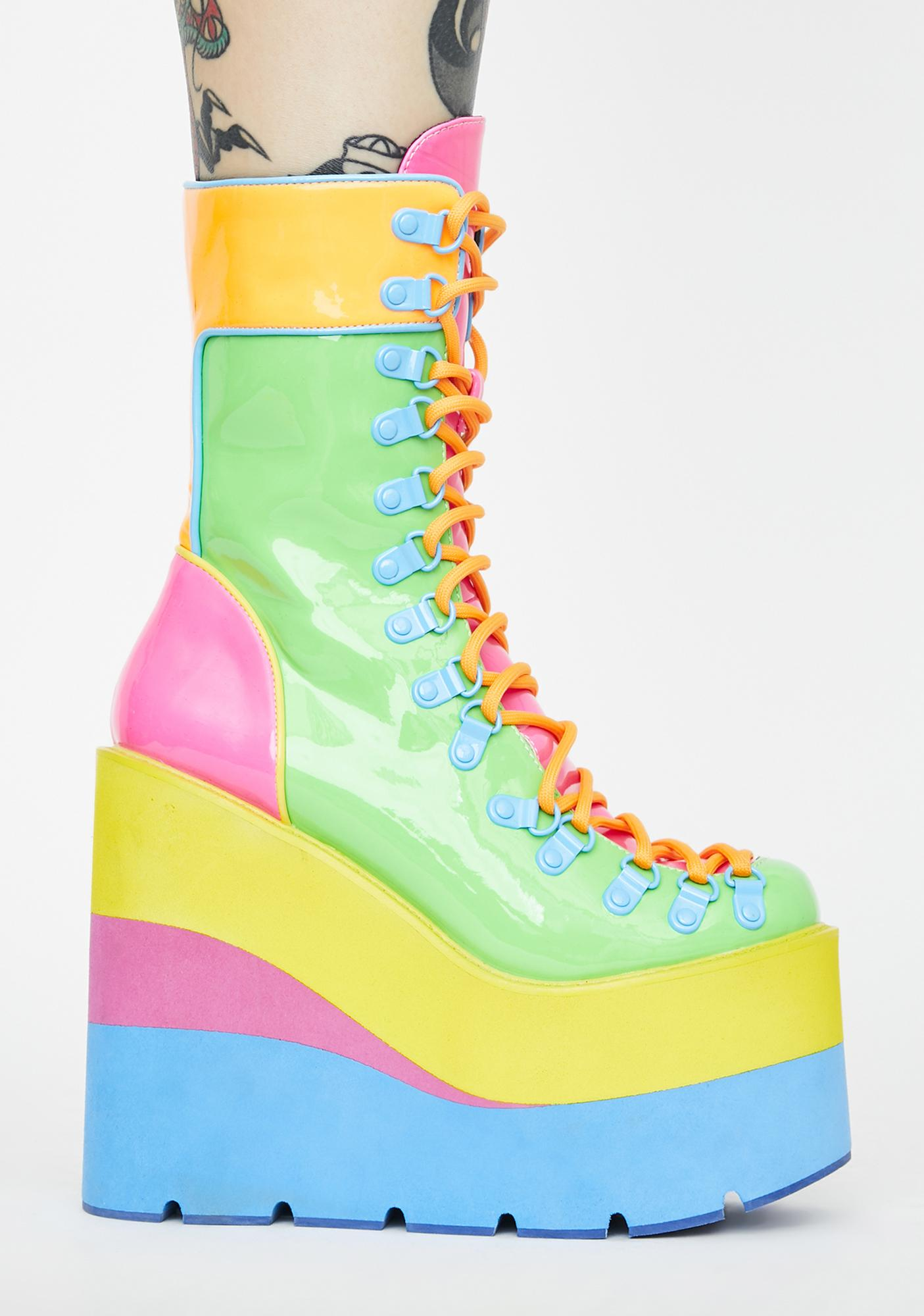Club Exx Sour Candy Traitor Boots