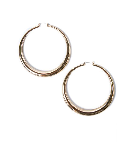 Dream Gal Hoop Earrings